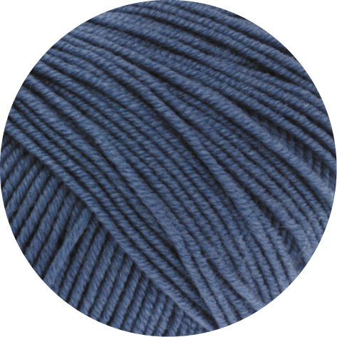 Wolle Lana Grossa Cool Wool Fb. 557 Taubenblau 50g