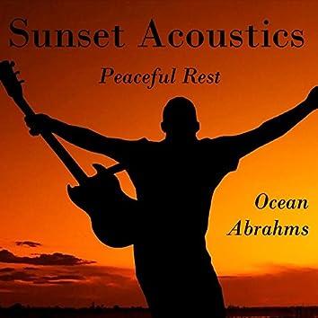Sunset Acoustics - Peaceful Rest