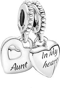 Aunt & Niece Split Heart