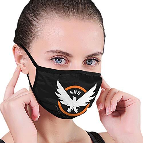 Renfkbgf Tom Clancy's The Di-Vision Nahtloser staubdichter waschbarer Kopftuchmaske Wiederverwendbarer Schal