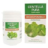 Centella Asiatica Pura Naturpharma 50 Vegan capsule da 450 mg di Estratto Puro Titolato al 20% in...
