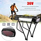 blackpoolal 36V 13Ah e-vélo Li-Ion batería alta capacidad Pedelec batería Set 481wh bicicleta eléctrica Kit de conversión Durable Herramienta Eléctrica
