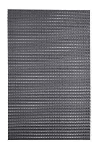 RIDDER Schaummatte Standard Zement-grau 65x200 cm