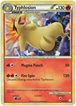 Pokemon - Typhlosion (32) - HeartGold SoulSilver - Shattered Holo - Theme Deck Exclusive