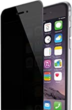 Privacy Screen Protector for iPhone7 iPhone8Plus, Anti Spy 9H Tempered Glass, Edge to Edge Full Cover Screen Protector Full Coverage (Black)