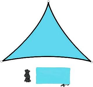 Voile d'Ombrage Triangulaire en Polyester avec Kit de Montage, Anti-UV 98% | 3 * 3 * 3m | Tissu Imperméable, Idéal pour Te...
