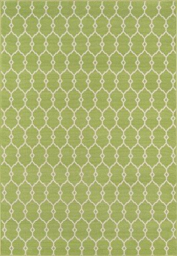 momeni Teppiche baja0blu1837, Polypropylen, grün, 2'3