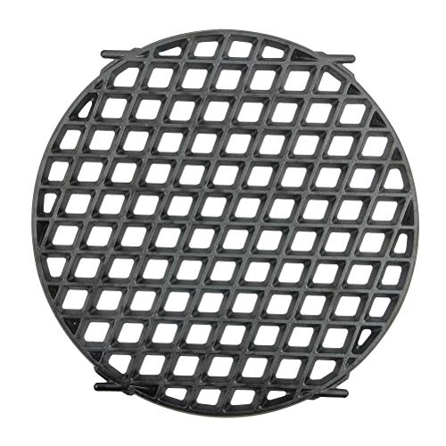 "Mydracas Cast Iron Sear Grate Replacement for Weber 8834 Gourmet BBQ System 22.5"" Weber Charcoal Grills,12-Inch Diameter Pre-Seasoned"