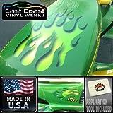 Calcomanías de llama–Lime–Hundido tallada–para Tractor Cortacésped Equitación–3pc. Garden–Juego para cortacéspedes John Deere Ride On Tractor