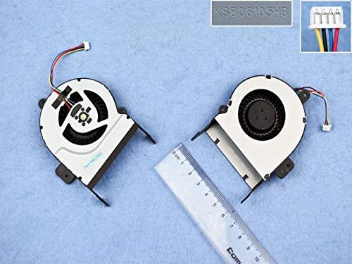 Kompatibel für ASUS F55A, K55A, K55C, K55U Lüfter Kühler Fan Cooler Version 9mm Bauhöhe