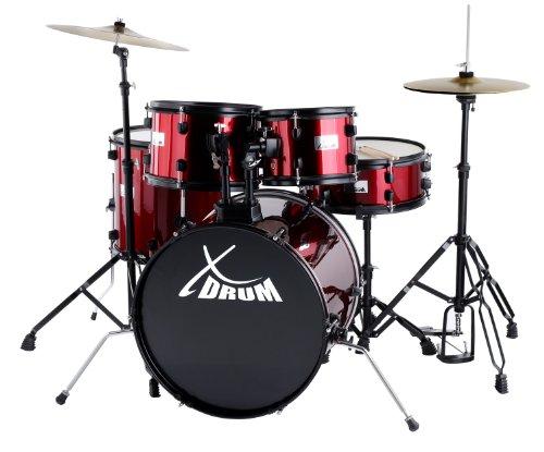 'XDrum Rookie 20Studio Set di batteria completo rosso Rubie