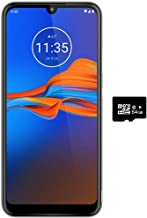 "$134 » Motorola Moto E6 Plus (32GB, 2GB) 6.1"" Screen, 3000mAh Removable Battery, Global 4G LTE Dual SIM GSM Unlocked XT2025-1 International Model (T-Mobile, AT&T, Metro) (Graphite, 64GB SD + Case Bundle)"