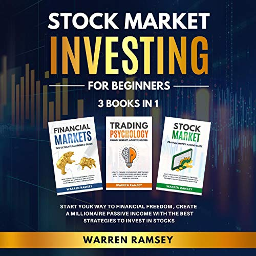 Stock Market Investing for Beginners - 3 Books in 1 cover art