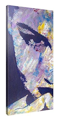 Picanova – Artwork Girl 100x50cm – Premium Leinwanddruck – Kunstdruck Auf 2cm Holz-Keilrahmen Für Schlaf- Und Wohnzimmer