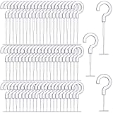 3000 Pieces Plastic J Hook Fasteners Clothing Tagging Fasteners Hanging Tag Fasteners for Tag Label, Standard Tagging Barbs, 3 Sizes, 1.5 Inch, 2.2 Inch, 2.8 Inch (3000)