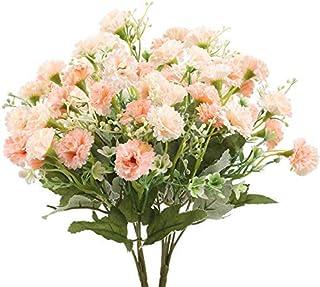 Aisamco 12 Pi/èces Artificielle Rose Fleur De Soie Fleur Bouquet De Mari/ée Roses Artificielles avec des Tiges pour La Maison De Mariage D/écoration