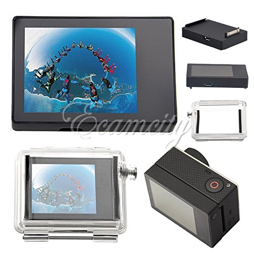 Generic NV _ 1001005535_ yc-uk2ero 3Nal monitor non-touch y vie LCD BacPac esterna Onito pellicole per display–Touc Viewer Een F GoPro HD Hero 3LCD Bac