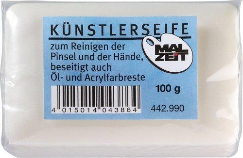 442990-2er - Künstler Seife Art Soap, TOP-Qualität! 2 Stück - SONDERPREIS, Handseife, angenehmer Duft, Pinselreiniger, Küchenseife, Reinigen, Duschseife, Universalseife,