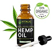 Hemp Oil Extract 2500mg - Helps with Healthy Sleep Patterns - Natural Pain Reliever - Supports Anxiety Reduction & Mood Support - No THC CBD Cannabidiol - Anti-Inflammatory - Rich in Omega Acids
