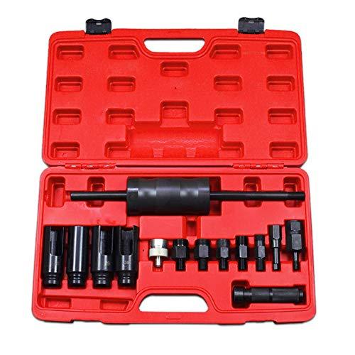VINGO 14-TLG Diesel Injektor Auszieher Injektoren Universal Einspritzdüsen Werkzeug Abzieher Abziehen