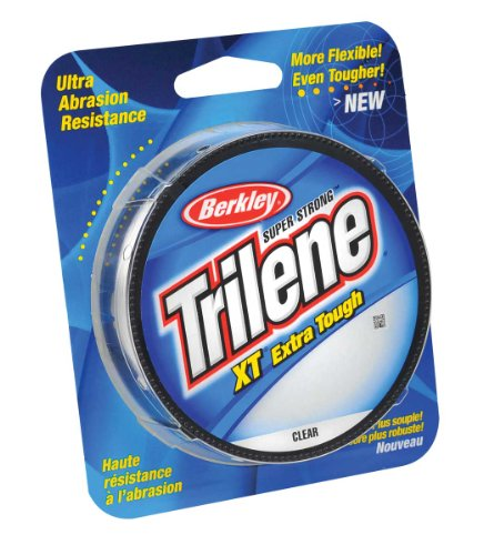 Berkley Trilene XT Filler 0,012 Zoll Durchmesser Angelschnur, 3,6 kg Test, 300 Meter Spule, transparent