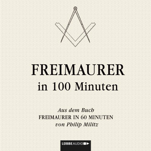 Freimaurer in 100 Minuten cover art