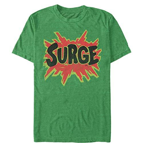 Men's Coca Cola Surge Logo T-Shirt - Kelly Heather - 2X Large