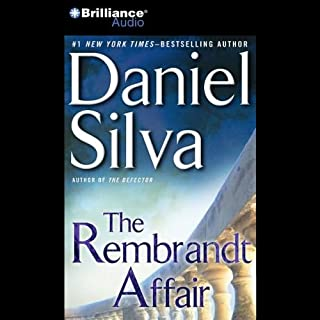 The Rembrandt Affair audiobook cover art