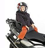 Moto bambino seggiolino Honda SH 150/i Scoopy Givi S650 nero