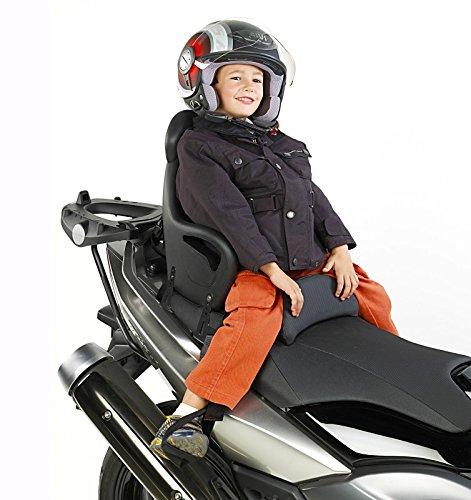 Motorrad Kindersitz Piaggio MP3 500 Business/ LT Givi S650 schwarz
