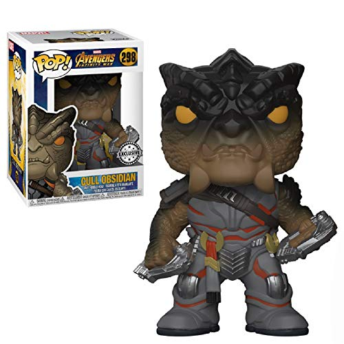 Funko POP!: Marvel: Vengadores: Infinity War: Cull Obsidian Exclusivo