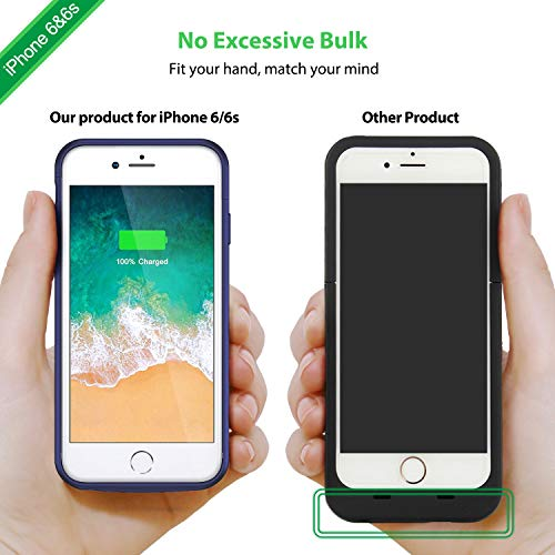 OnlyTop Part,Case Not Included Top Piece Lost Replacement Part Compatible with 4000mAh iPhone 6 6s Battery Case