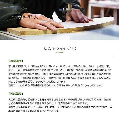 土佐龍 鍋敷き 栗 φ14×2cm NB-11