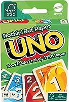 UNO 100% Papier Kartenspiel (plastikfrei und recycelbar)