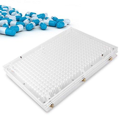 Filfeel Máquina manual de llenado de cápsulas, placas de c