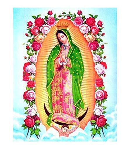 Diy Diamante Pintura Religiosa De La Virgen Regalo Para Punto De Cruz Decoración Del Hogar Iconos Serie Diamante Bordado Pintura 30X40Cm A