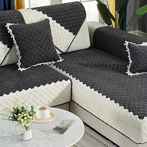 J-Kissen Couch Cover, L-Form Sofa-Abdeckung, sectinal Plüsch Sofa Slipcover, for 3 Kissen Couch, for Hunde, Liebe Sitzverstell- Abdeckung (Color : J, Size : 110x210cm(43x83inch))