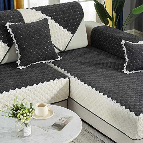 J-Kissen Couch Cover, L-Form Sofa-Abdeckung, sectinal Plüsch Sofa Slipcover, for 3 Kissen Couch, for Hunde, Liebe Sitzverstell- Abdeckung (Color : J, Size : 70x70cm(28x28inch))