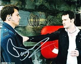 GARETH DAVID-LLOYD and JOHN BARROWMAN as Ianto Jones and Jack Harkness