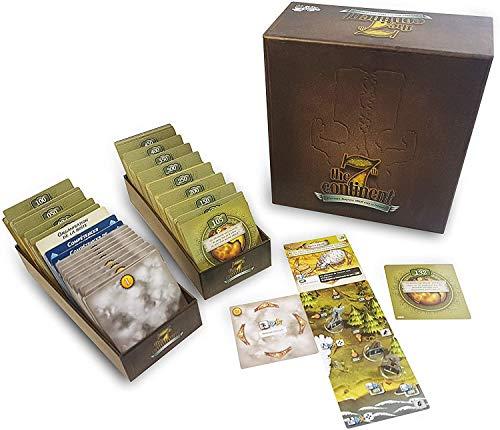 The 7th Continent Classic Edition - Core Box - English Version - Boardgame - Cooperative - 1 to 4 Players - Adventure - Exploration - Survival
