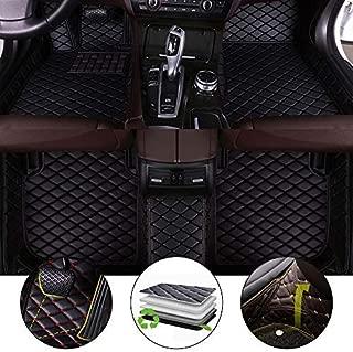 All Weather Floor Mat for 2017-2018 Alfa Romeo Stelvio Full Protection Car Accessories Black 3 Piece Set