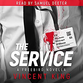 Freebird: The Service audiobook cover art