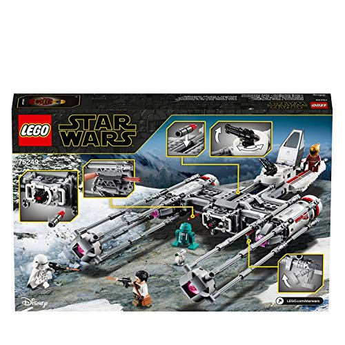 LEGO 75249 Star Wars Battle Starship Building Set, The Rise of Skywalker Movie Collection, Multicolour