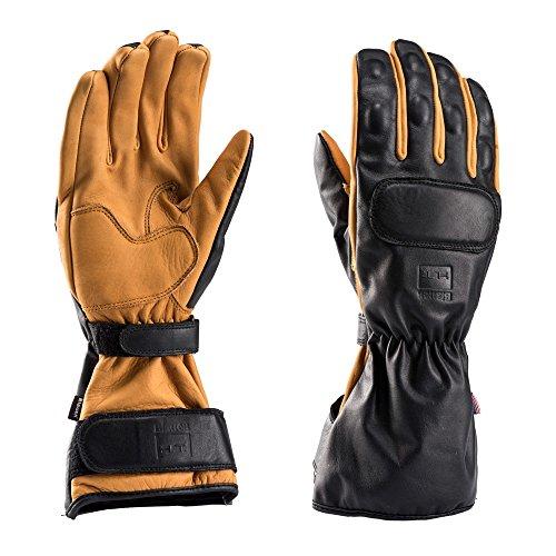 Preisvergleich Produktbild BLAUER Motorcycle Gloves,  Black / Natural,  Größe M