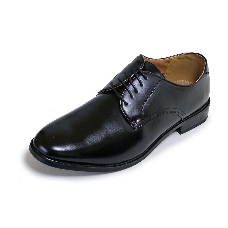 [カラダ快適研究所] 28cm 29cm 30cm 幅広3e プレーントゥ ビジネスシューズ 紳士靴 キングサイズの靴 大きいサイズの靴 ビックサイズの靴 n1203