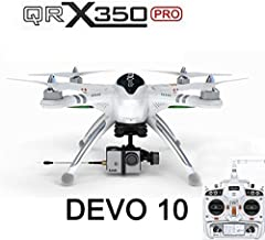 Xiangtat Walkera QR X350 Pro FPV GPS RC Quadcopter Drone With Devo 10 RX703 receiver For Gopro 3 RTF
