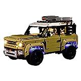 Set de iluminación Juego de iluminación LED con batería Vonado para Lego Land Rover Defender 42110 - Versión de Control Remoto (LED Solamente Incluido, NINGÚN Lego Kit)