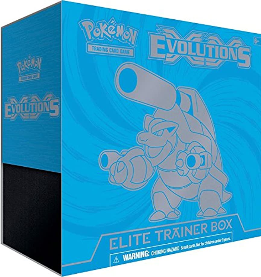 Pokemon TCG: XY Evolutions Blastoise Elite Trainer Box