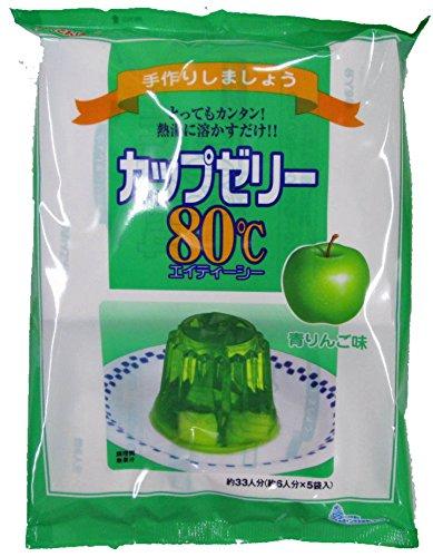 かんてんぱぱ カップゼリー 青りんご味100gX5袋 10個セツト