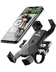 "PAMPEL Soporte Movil Bicicleta,360° Rotación Soporte Motocicleta Soporte Universal Manillar para iPhone 11 Pro MAX, XS MAX, X, XR, 8, 7, 6S, Samsung S10 S9 S8 S7, Huawei, 4.5""-7.0"" Smartphones"